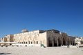 Al aqsa mosque at the temple mount jereusalem israel Royalty Free Stock Photos