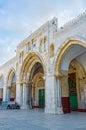 The Al-Aqsa's main entrance Royalty Free Stock Photo
