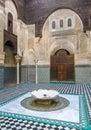 Al Attarine Madrasa in Fez, Morocco Royalty Free Stock Photo