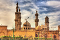 Al-Azhar Mosque in Cairo Royalty Free Stock Photo