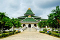 Al azim mosque in malacca malaysia – november it was s state it is located next to the general Royalty Free Stock Images