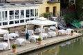 Al fresco dining Royalty Free Stock Photo