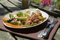 Al fresco salad Royalty Free Stock Photography