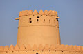 Al Jahili fort in Al Ain Stock Images