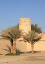 Al Jahili fort in Al Ain Royalty Free Stock Images