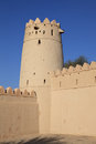 Al Jahili fort in Al Ain, UAE Stock Photography