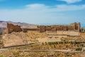 Al Karak kerak crusader castle fortress Jordan Royalty Free Stock Photo