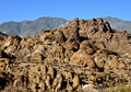 Alabama Hills, California Royalty Free Stock Photo