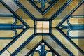 Alabaster window Royalty Free Stock Image