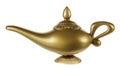 Aladdin Magic Lamp Royalty Free Stock Photo