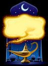Aladdin's Magic Lamp Royalty Free Stock Photo