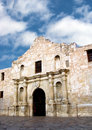 Alamo blue sky Stock Images