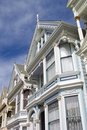 Alamo Square Architecture Royalty Free Stock Photo