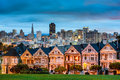 Alamo Square Royalty Free Stock Photo