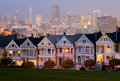 Alamo Square in San Francisco Royalty Free Stock Photo