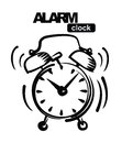 Alarm clock Stock Image