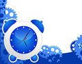 Alarm clock background Royalty Free Stock Photos