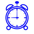 Alarm clock icon (vector) Royalty Free Stock Photos