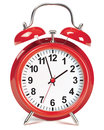 Alarm clock isolated. Vector illustration Royalty Free Stock Photo