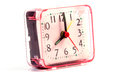 Alarm clock in time concept isolated Royalty Free Stock Photo