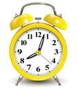Alarm clock vector illustration Royalty Free Stock Image
