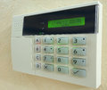Alarm Panel Royalty Free Stock Photo