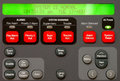 Alarm Panel Stock Image