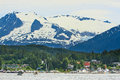 Alaska - Auke Bay Harbor Outside Juneau Stock Photography