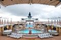 Alaska cruise ship deck Royalty Free Stock Photo