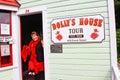 Alaska - de Reis van het Huis van de Dolly van de Straat van de Kreek Stock Afbeelding