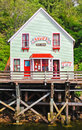 Alaska - het Huis van de Beroemde Dolly van de Straat van de Kreek Royalty-vrije Stock Afbeeldingen