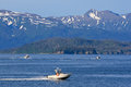 Alaska - Homer Kachemak Bay Fishing Boats Royalty Free Stock Photo