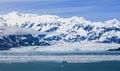 Alaska Hubbard Glacier and Mountains Royalty Free Stock Photos