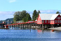 Alaska Icy Strait Point Welcome Center Royalty Free Stock Photo
