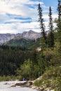 Alaska Mountain Range from Denali Royalty Free Stock Photo