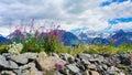 Alaska Mountain Ranges Royalty Free Stock Photo