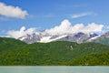 Alaska Mountains of Lake Clark National Park Royalty Free Stock Photography