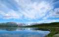 Alaska mountains in the summer Royalty Free Stock Photos