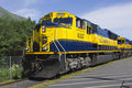 Alaska Railroad Stock Image