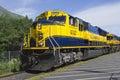 Alaska Railroad Royalty Free Stock Photo