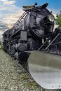 Alaska Railroad engine 556 Royalty Free Stock Photo