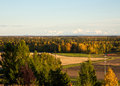 The Alaska Range in Autumn Royalty Free Stock Photos