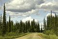 Alaska, road from Fairbanks to Arctic Circle Royalty Free Stock Photos