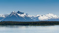 Alaska's Mountain Range Stock Image