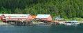 Alaska Sunny Icy Strait Point Royalty Free Stock Photo