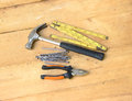 Albañil instruments Fotografía de archivo