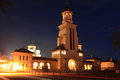 Alba Iulia at night, Transylvania, Romania Royalty Free Stock Photography