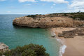 Albandeira beach carvoeiro algarve portugal Royalty Free Stock Photography