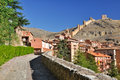 Albarracin, medieval town of Spain Stock Photography