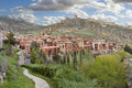 Albarracin medieval town of teruel spain Royalty Free Stock Images